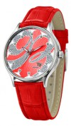 Часы Romanson HL5154SMW(RED)